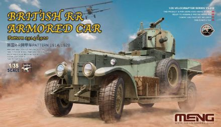 Meng 1/35 British R-R Armoured Car Pattern 1914/1920